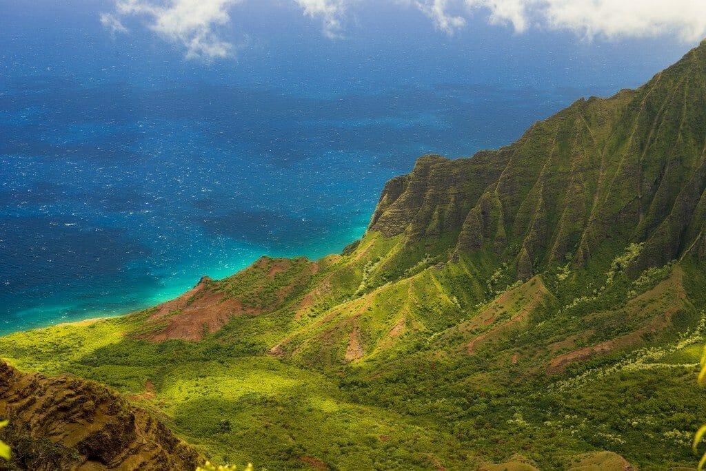 Hawaiian Island Landscape
