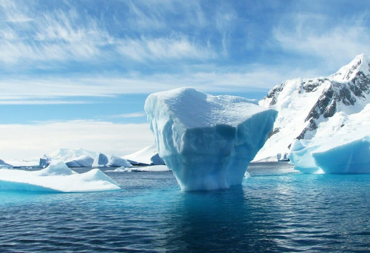 Antarctica - Freshwater Source Pixabay Public Domain