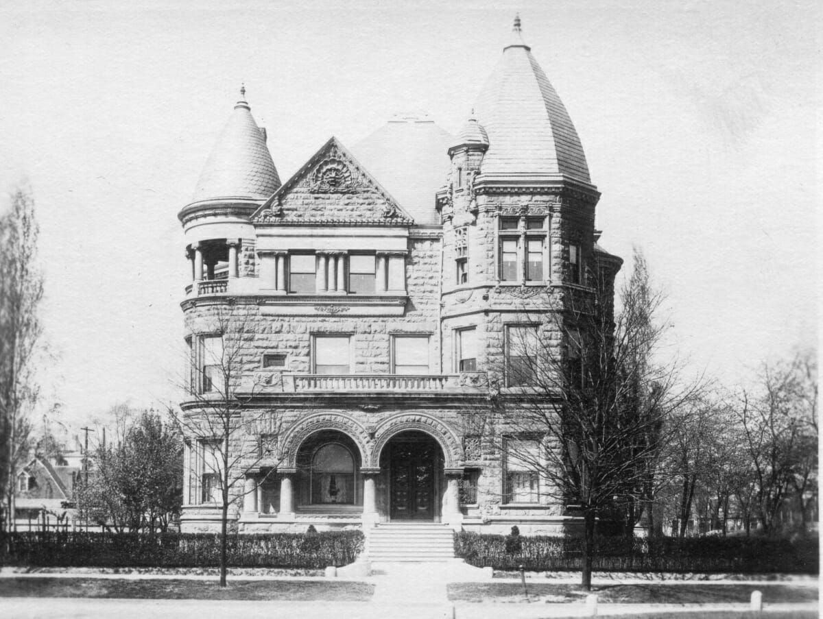 Conrad Castle - Courtesy Conrad Caldwell House