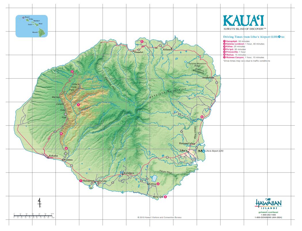 Kauai - Credit The Hawaiian Islands