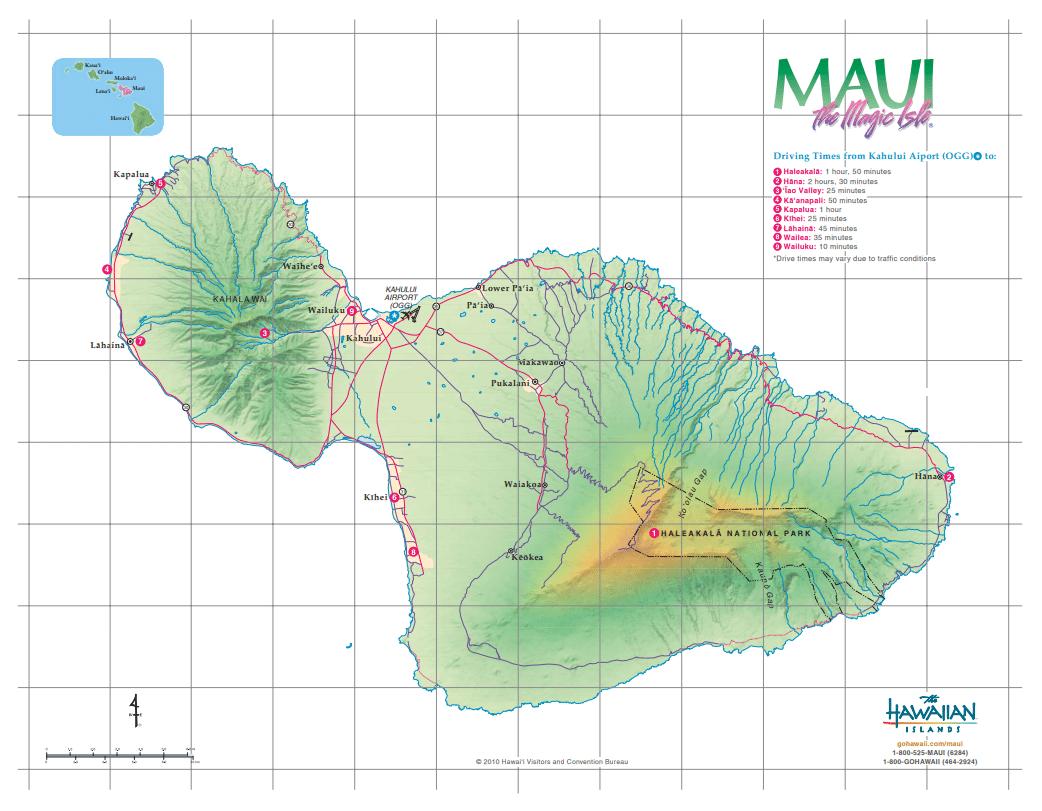 Maui - Credit The Hawaiian Islands