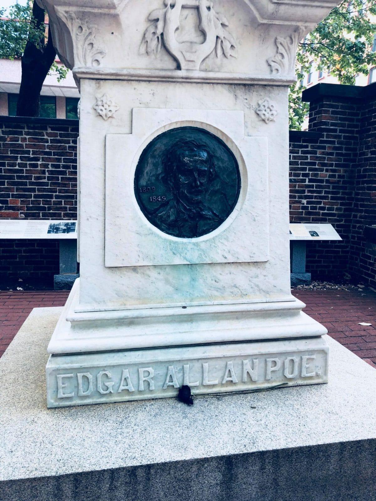 Edgar Allan Poe Grave Baltimore Credit April Moore