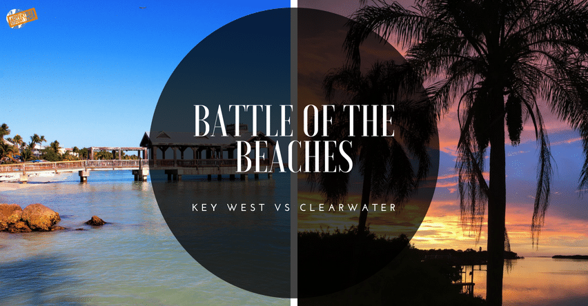 Battle of the Beaches: Key West vs Clearwater