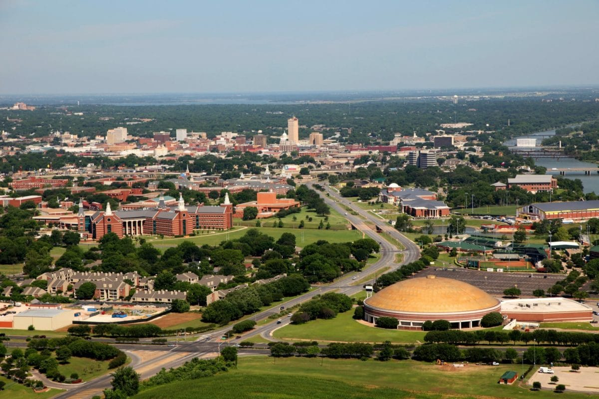 Overview of Baylor Campus Credit Waco Heart Texas