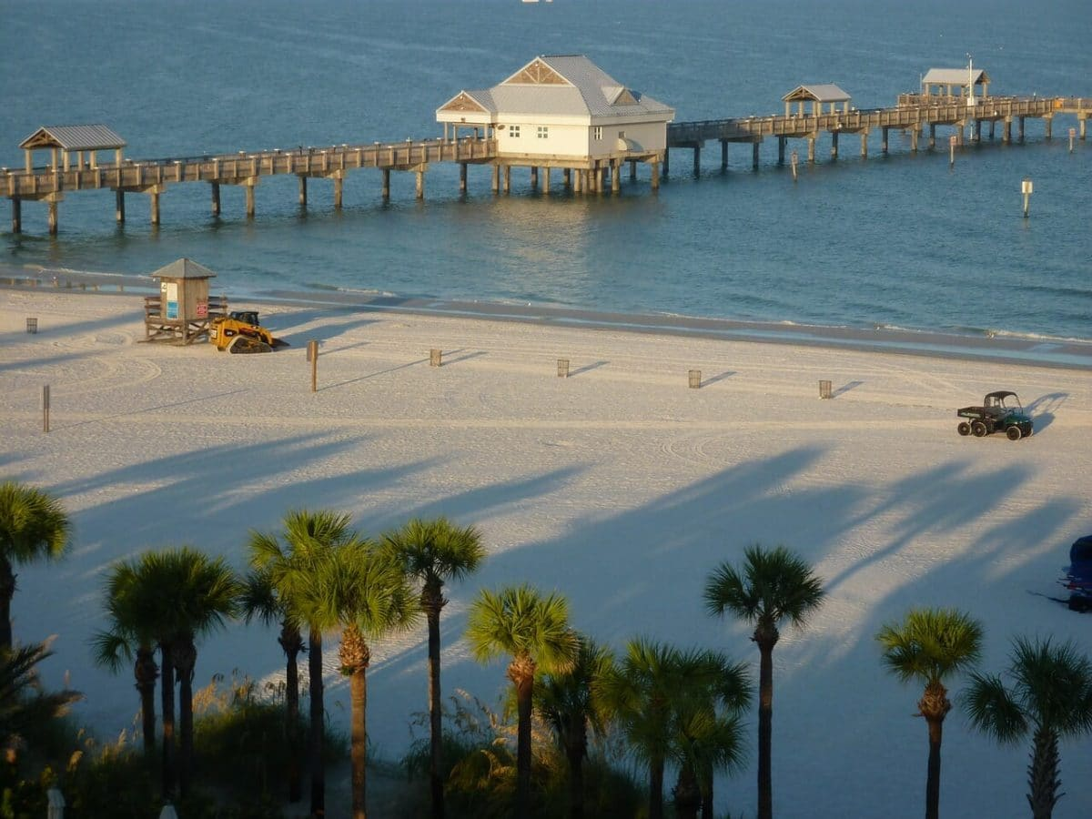 Clearwater Beach Pixabay Public Domain