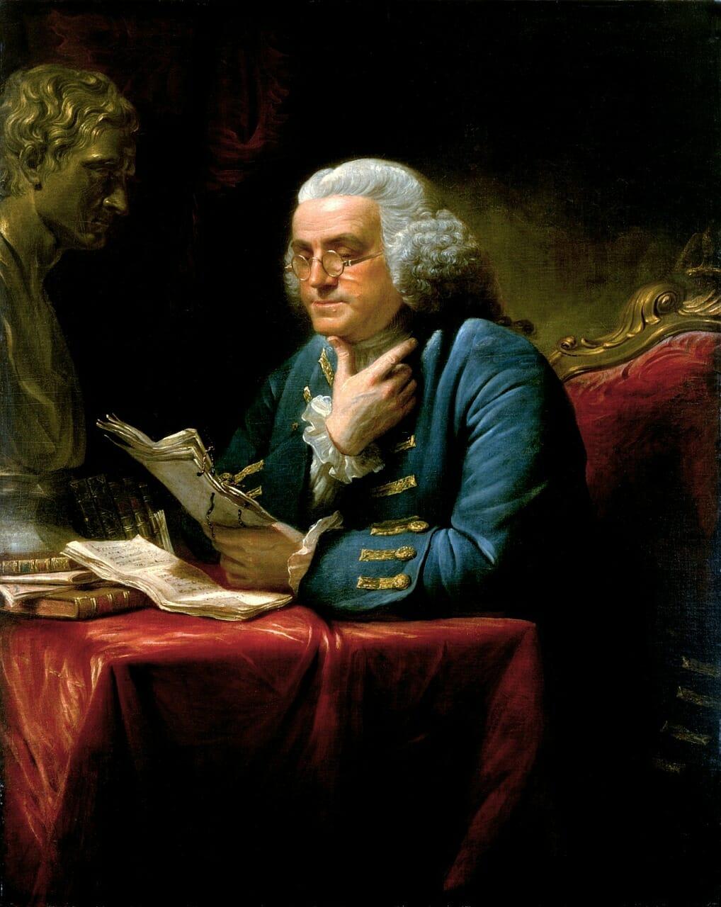 Benjamin Franklin, 1706-1790 Pixabay Public Domain