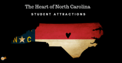 The Heart of North Carolina – Student Attractions